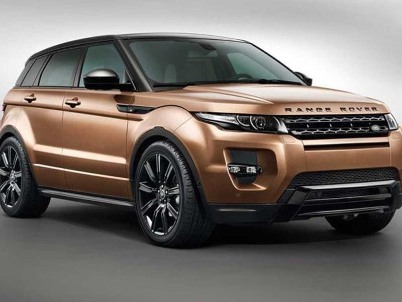 New 2014 Range Rover Evoque photo gallery
