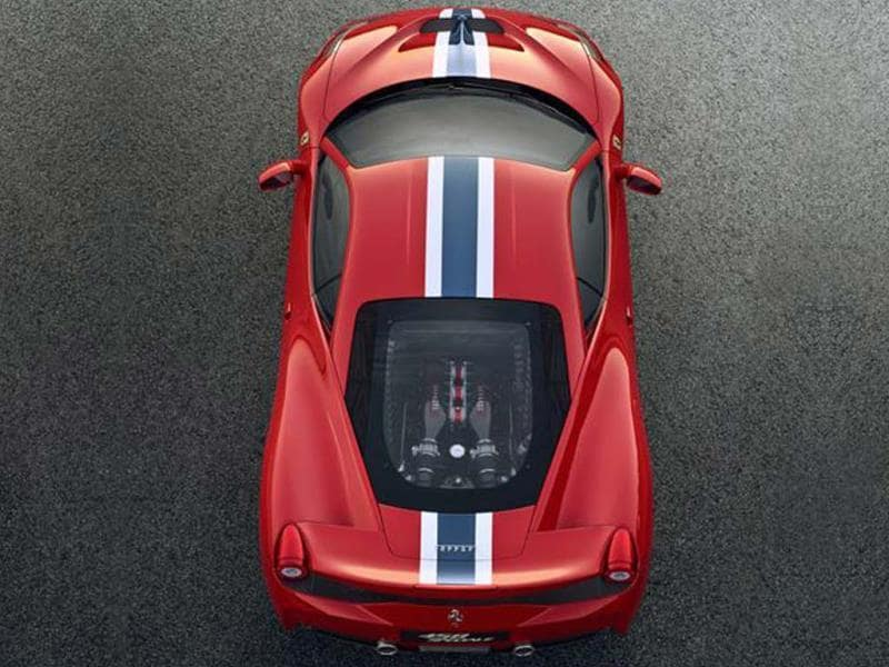 New Ferrari 458 Italia Speciale photo gallery