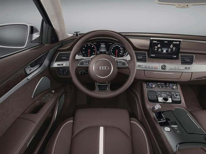 Audi A8 facelift photo gallery