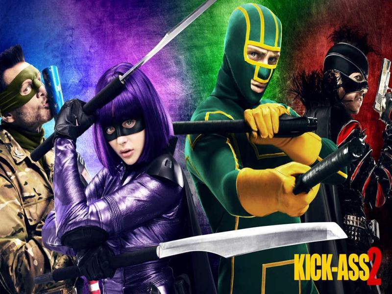 Kick-Ass 2 is a British-American superhero comedy film based on the comic book of the same name and Hit-Girl, both by Mark Millar and John Romita, Jr.