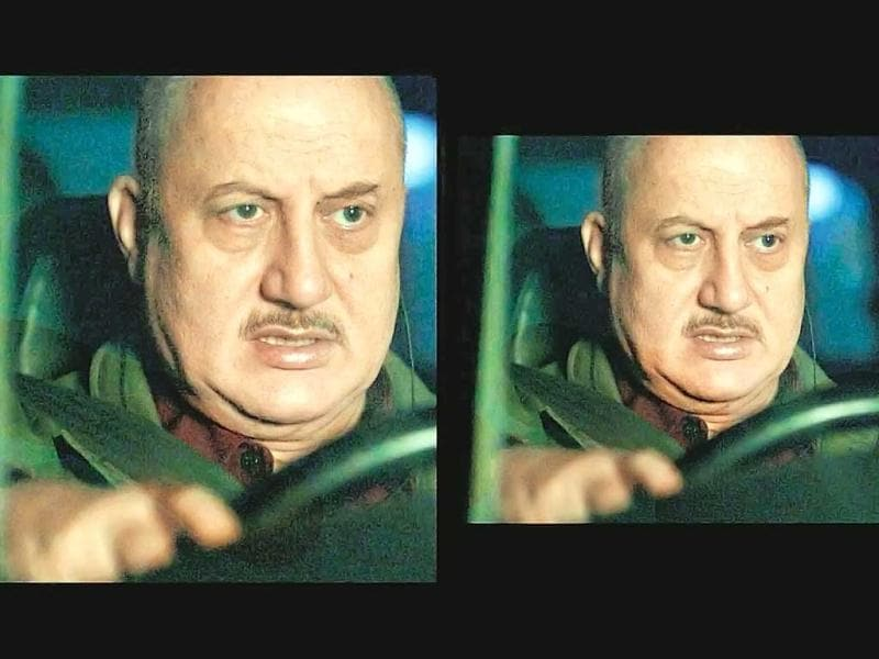 Anupam Kher in a still from TV series 24.