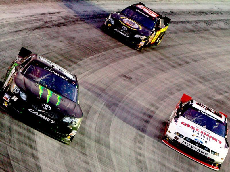 The Nascar Nationwide Series Food City 250 at Bristol Motor Speedway in Bristol, Tennessee. AFP photo