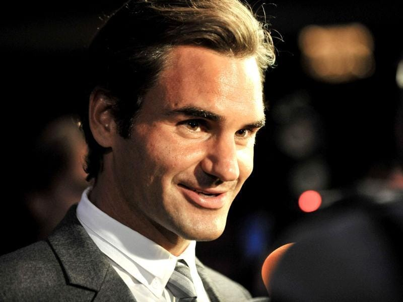 Professional tennis player Roger Federer attends the ATP Heritage Celebration at The Waldorf Astoria in New York City. AFP
