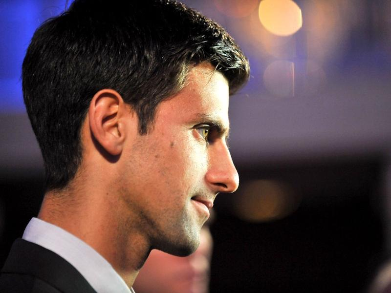 Professional tennis player Novak Djokovic attends the ATP Heritage Celebration at The Waldorf Astoria in New York City. AFP