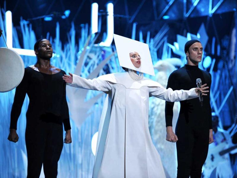 Lady Gaga appears as a nun. But she goes mainstream too soon. We deem her The Bad.