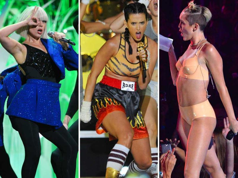 The three crazy celebs who made a statement at the MTV Video Music Awards 2013. Find out who qualifies as The Good, The Bad and The Ugly respectively!