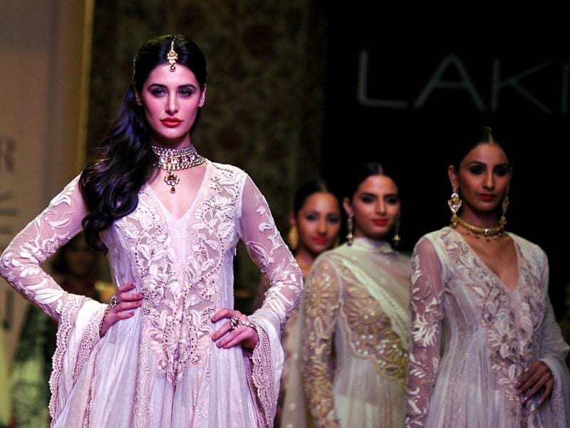 Showstopper Nargis Fakhri steals the show.