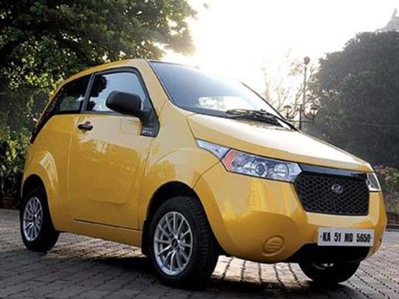 Mahindra Reva working on more powerful e2o