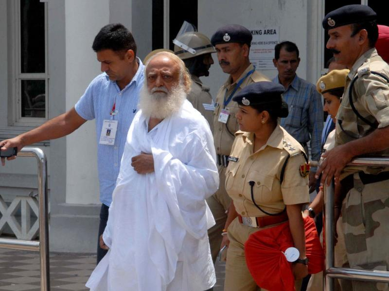 Self-styled godman Asaram was denied bail on Tuesday. (AFP File Photo)