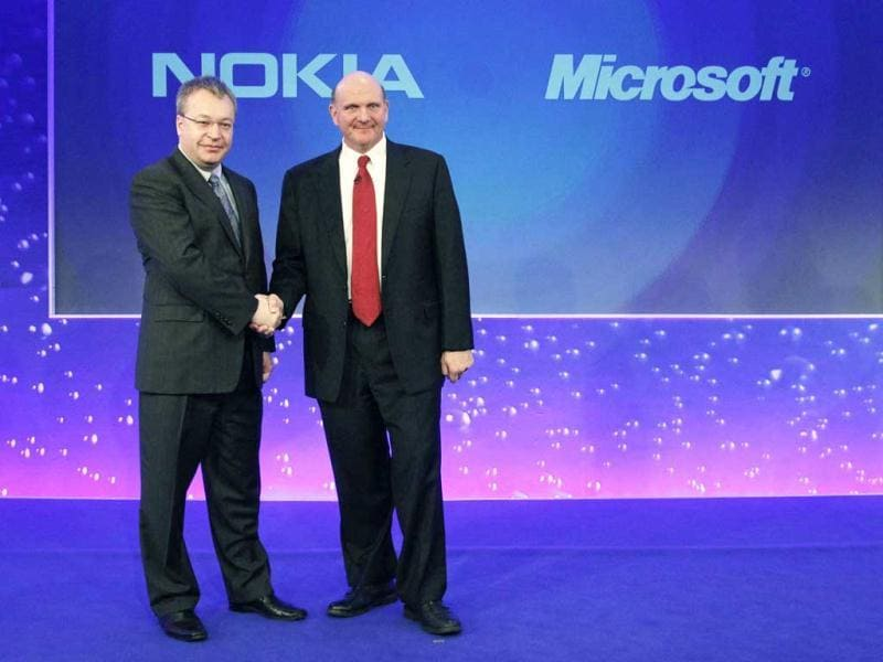 Microsoft said today it would buy Nokia's mobile phone business for 5.44 billion euros ($7.2 billion). Reuters