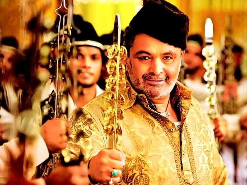 The actor re-defined villainy with his portrayal of Rauf Lala, the local goon in Agneepath (2012). Rishi Kapoor sent chill down our spines with his kohl-lined eyes and paan-stained mouth when he ogled the hero's sister and tries to auction her.