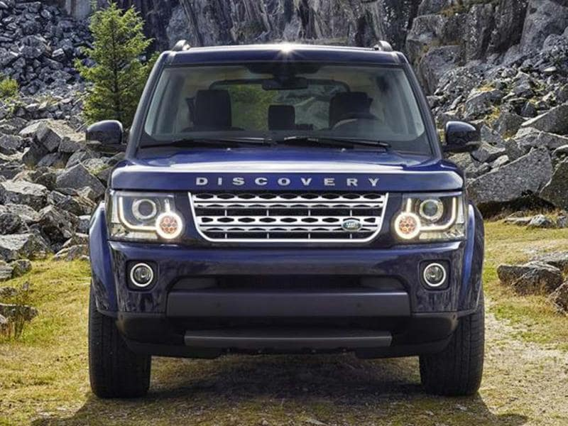 Land Rover Discovery facelift photo gallery