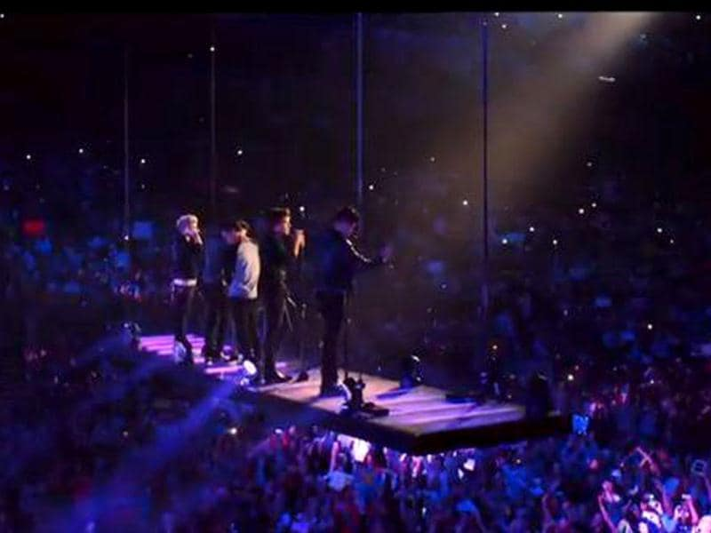 One Direction: This Is Us traces the journey of the boy-band and showcases their life.