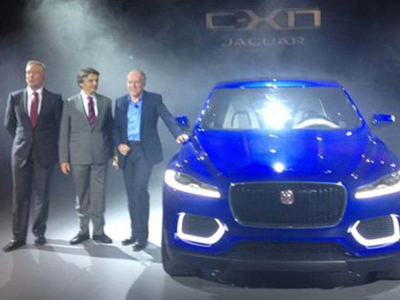 New Jaguar C-X17 SUV revealed