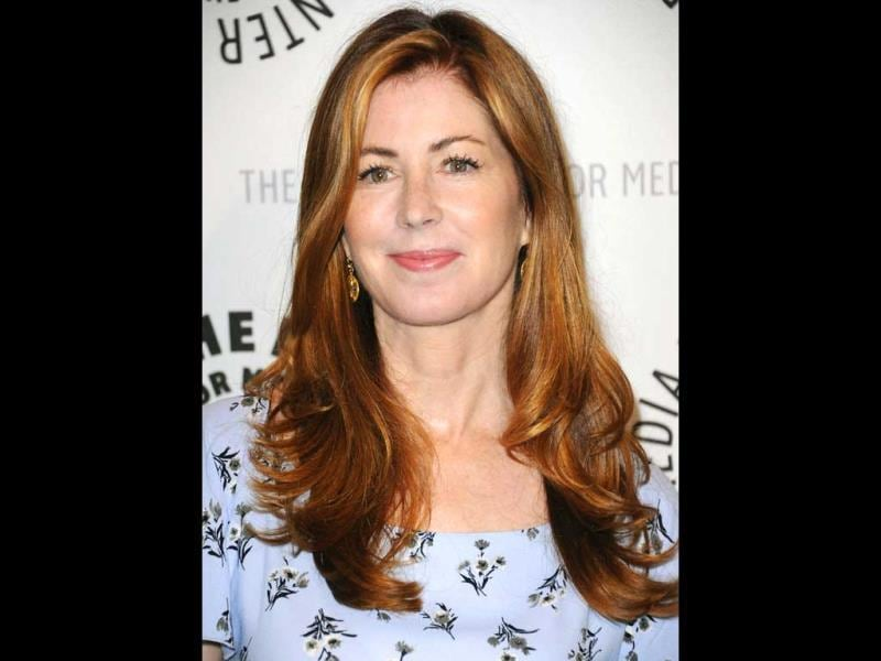 Dana Delany arrives at the PaleyFest Previews Fall TV's Fall Flashback Reflection's: