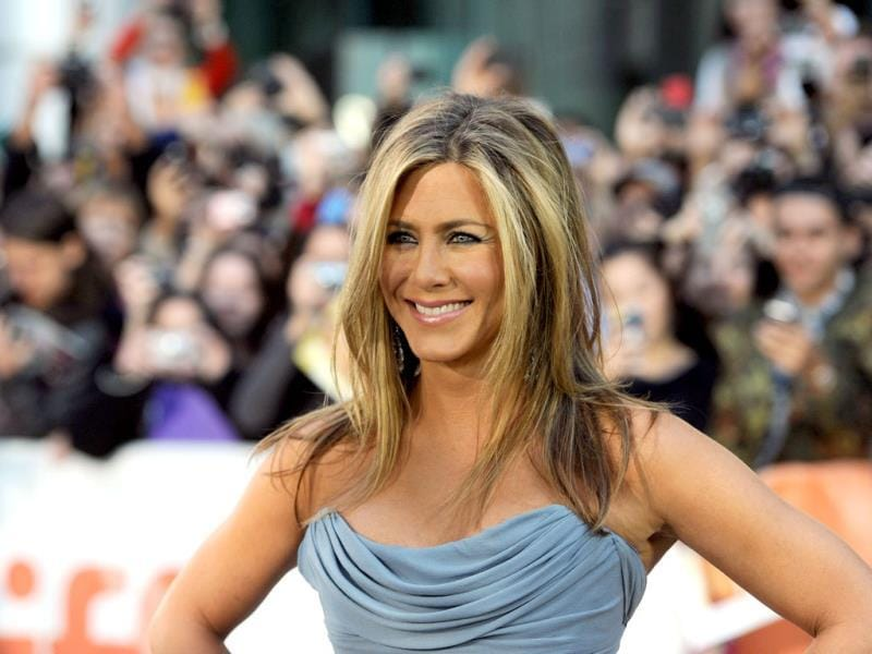 Actress Jennifer Aniston arrives at the 'Life Of Crime' Premiere during the 2013 Toronto International Film Festival at Roy Thomson Hall. (AFP Photo)