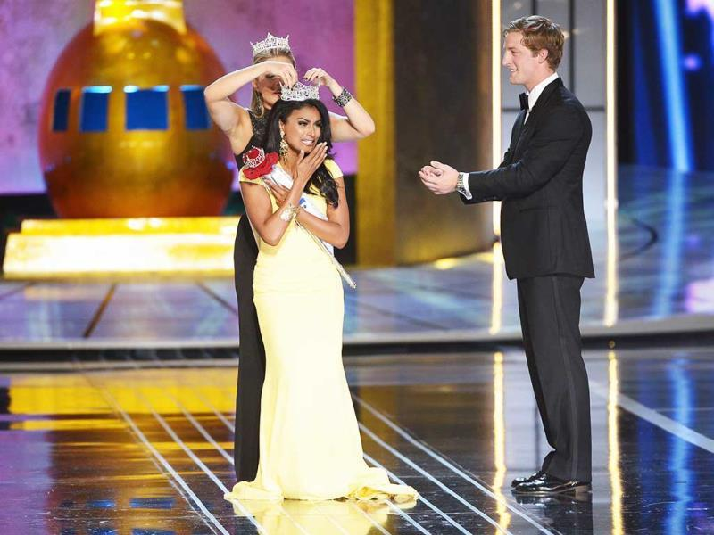 Davuluri is thrilled to be the first Miss America of Indian origin.