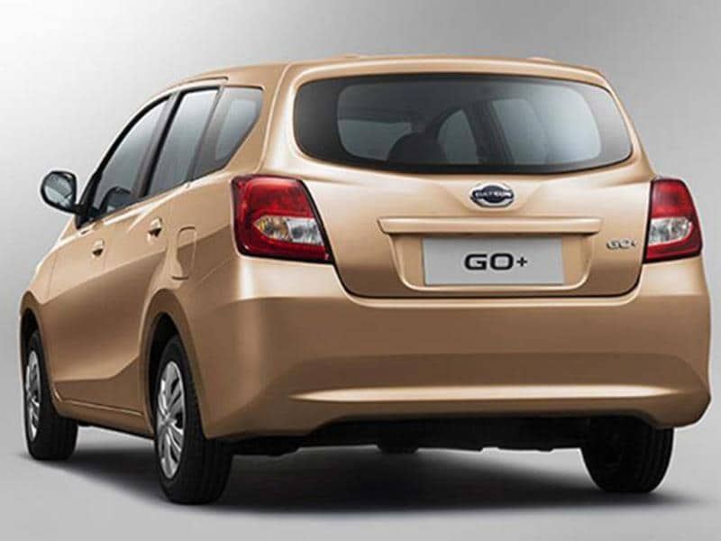New Datsun Go+ compact MPV photo gallery