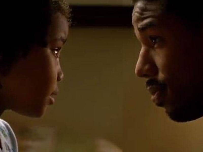 An intense moment from the award-winning film Fruitvale Station.
