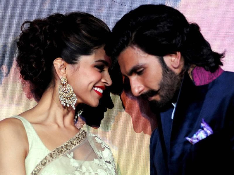 They have been linked in real life, they are pairing up for the first time in Sanjay Leela Bhansali's Ram Leela. Ranveer Singh and Deepika Padukone look very much like their characters on the trailer launch of their upcoming film.