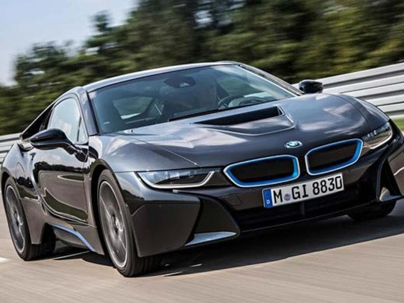 New BMW i8 review, test drive