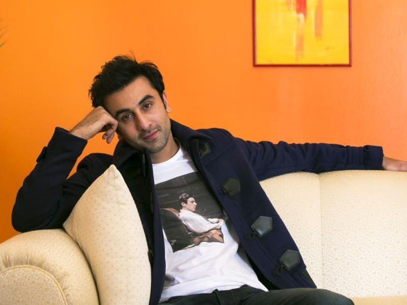 Bollywood actors Ranbir Kapoor and his parents Neetu and Rishi Kapoor addressed a news conference discussing their new film Besharam in New York, September 23. Ranbir Kapoor poses for the lenses. Browse through.