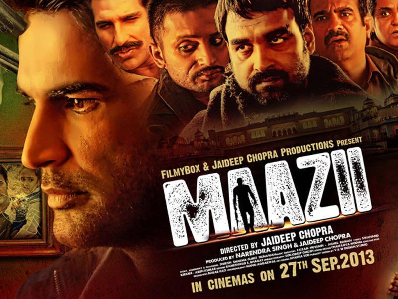 Poster of Maazii.