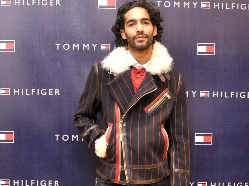 Anuj Choudhary in Tommy Hilfiger.
