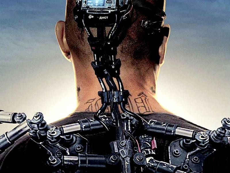 Elysium is a sci-fi action thriller that deals with political themes. Matt Damon and Jodie Foster play the lead opposing roles in the film.