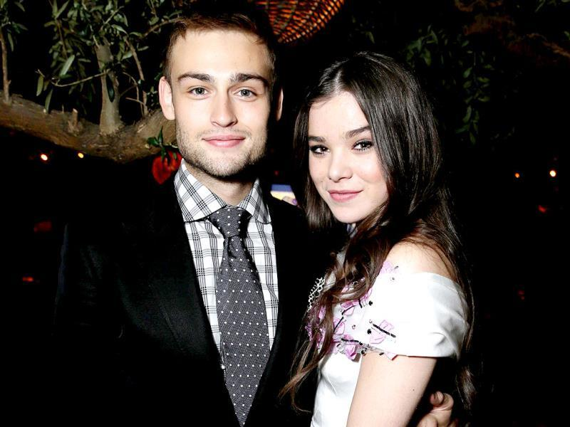 Latest adaptation of William Shakespeare's romantic tragedy Romeo and Juliet had a gala premiere recently in Hollywood. The lead actors Douglas Booth and Hailee Steinfeld pose for a smile. (AP Photo)