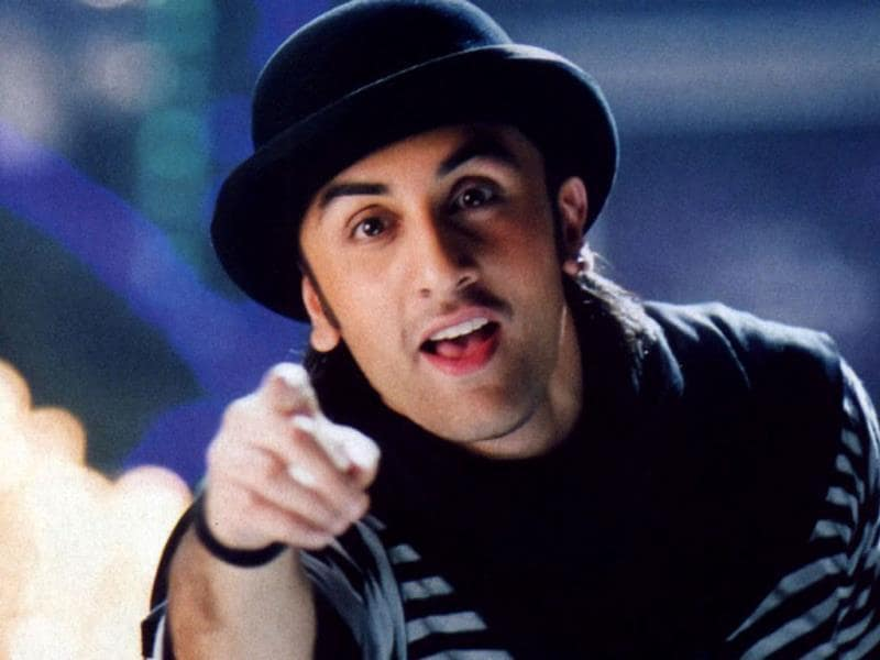 Saawariya was Ranbir's first film. He played a gullible boy opposite Sonam Kapoor in a fantasy-like romance.
