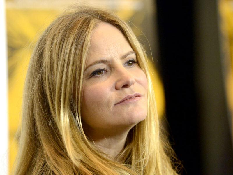 Jennifer Jason Leigh attends the film premiere of Kill Your Darlings in Beverly Hills, California.(Reuters photo)