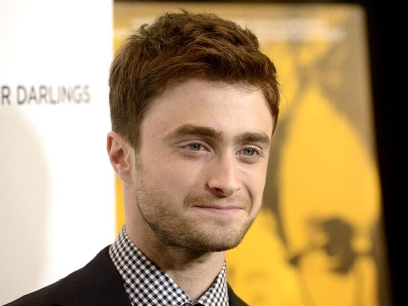 Daniel Radcliffe attends the film premiere of Kill Your Darlings in Beverly Hills, California.(Reuters photo)