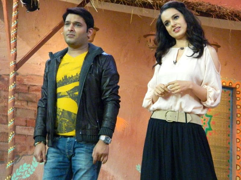 What bothers Kangna and Kapil?