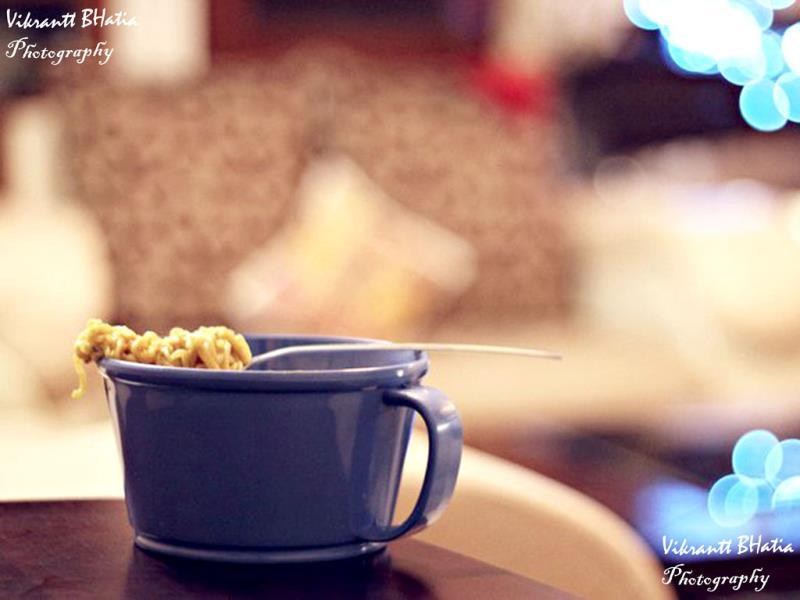 Sunday is a cup of Maggi (Photo: Vikrantt Bhatia)