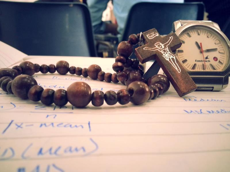 Faith in God and in time (Photo: Jobit George)