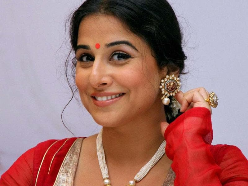 Lenses capture Vidya Balan in Mumbai. (PTI Photo)