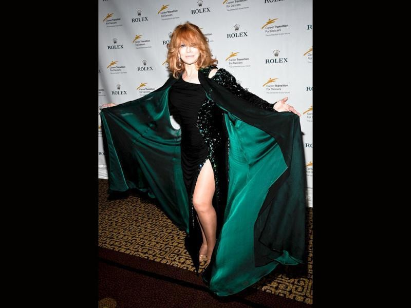 Honoree Ann-Margret attends the Broadway And Beyond Celebration at the Hilton New York in New York City. (AFP Photo)