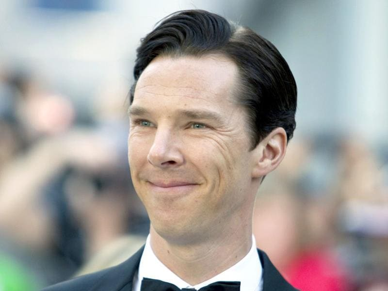 Benedict Cumberbatch arrives for the premiere of the film