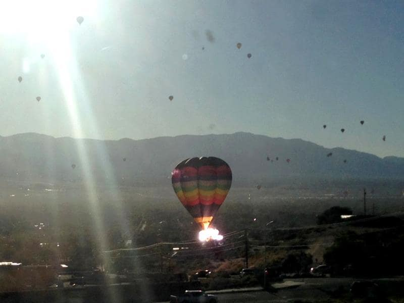 The hot-air balloon