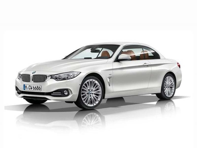 New BMW 4-series convertible photo gallery