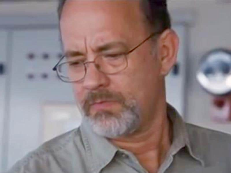 Tom Hanks plays the troubled captain in Captain Phillips.