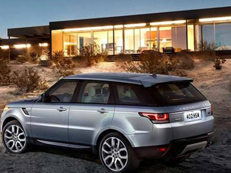 New 2013 Range Rover Sport launched at Rs 1.09 crore