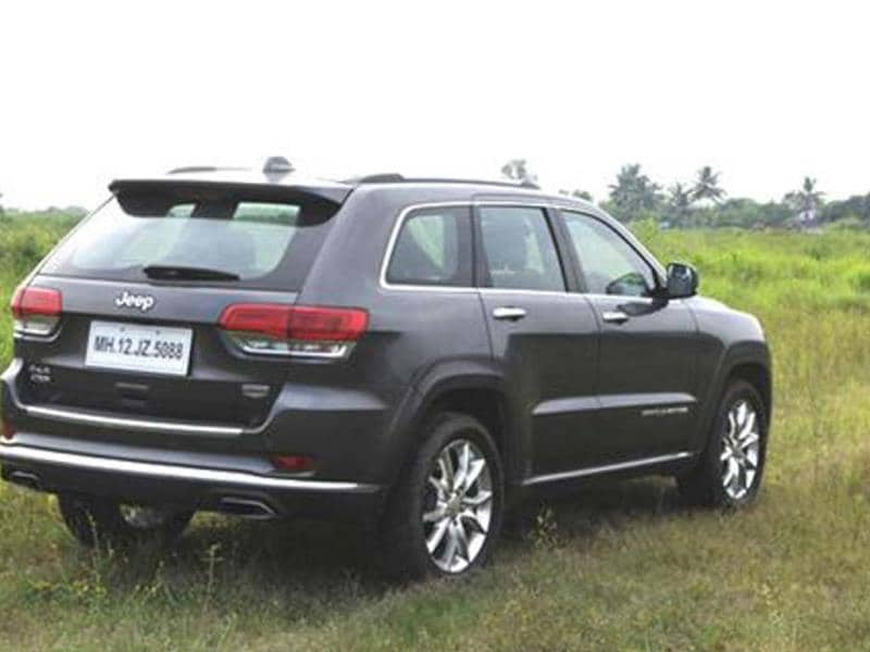 Jeep Grand Cherokee India review, test drive