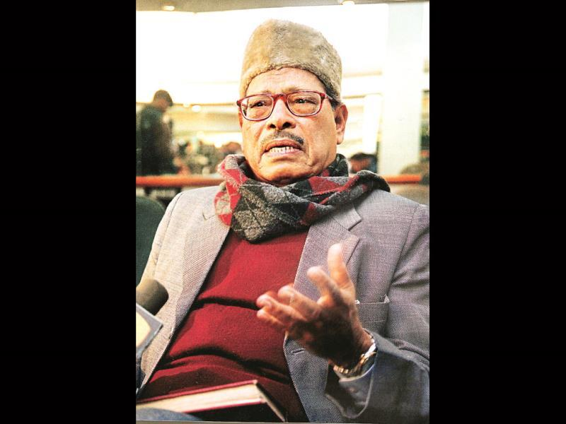 Legendary singer Manna Dey passed away on Oct 24. He was suffering from lung infection. (Photo: Prabhas Roy Pubmarch)