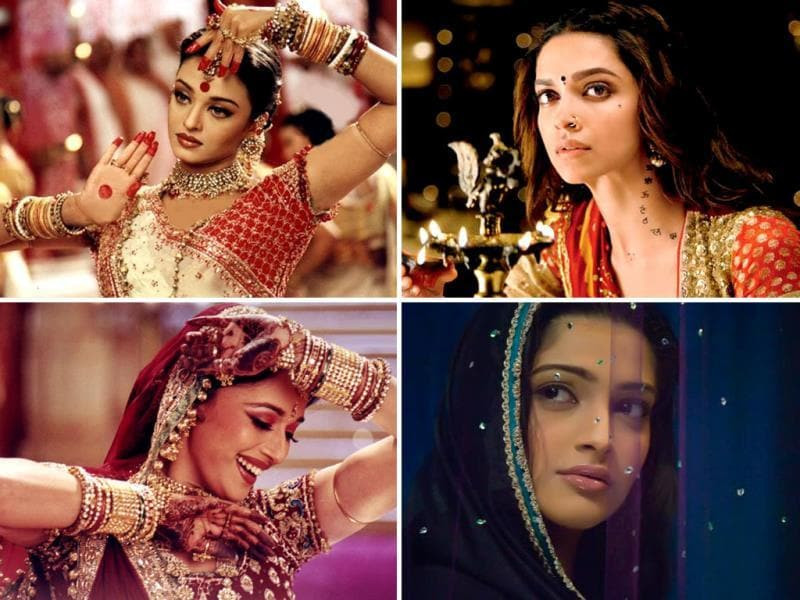 Sanjay Leela Bhansali loves to play with colours on his film's canvas. Be it Devdas, Hum Dil De Chuke Sanam, or his upcoming film Ram-leela, the director has his trademark style of presenting his heroines. Here's a look at Bhansali's actresses so far.