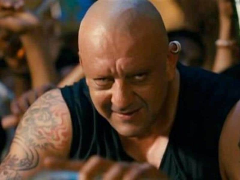 Sanjay Dutt played the modern Kancha Cheena with aplomb in Agneepath remake.