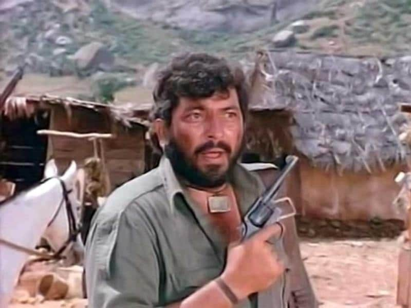 And who can forget Gabbar Singh, played by Amjad Khan in classic Sholay.