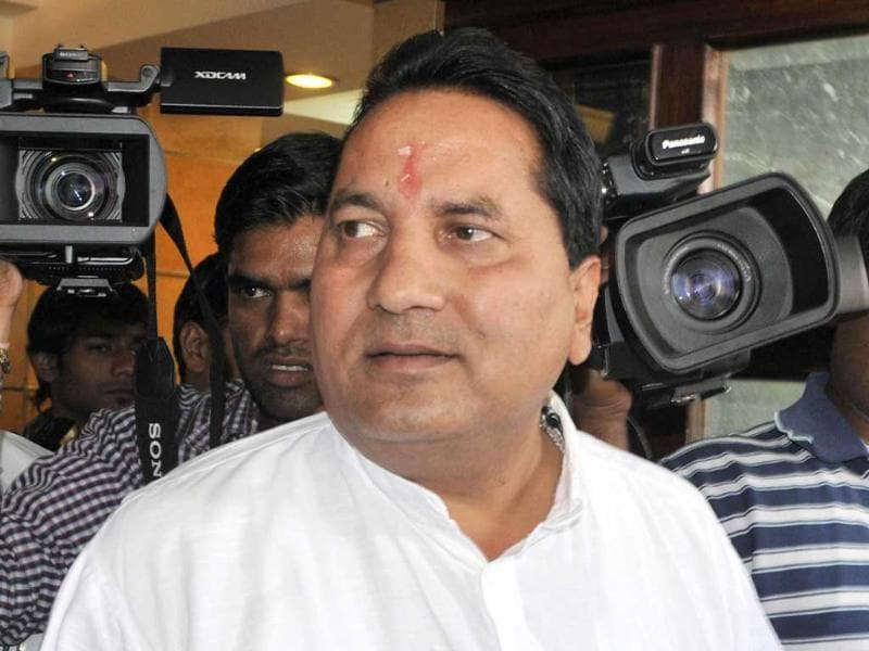 The CBI questioned former Rajasthan minister Babulal Nagar, who is accused of raping a 35-year-old woman. (HT Photo)