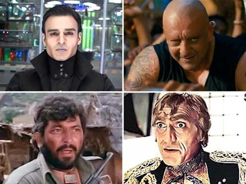 Vivek Oberoi is all set to portray the main villain Kaal in sci-fi film Krrish 3. And he does look impressive. We re-visit the legendary villains that made a mark in B-town.